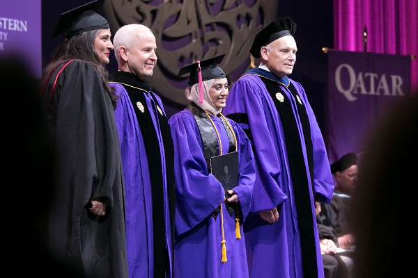Northwestern University Graduation 2020.Class Of 2019 Graduation Northwestern University In Qatar